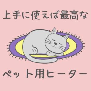 【猫の下痢…原因は寒さ?】季節の変わり目こそペット用ヒーターで対策