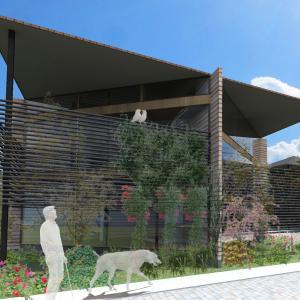 造成地に建つ住宅の提案