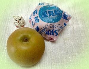 水分補給に「梨」がオススメです。