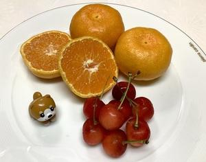 夏の甘〜いフルーツ。