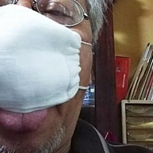 安倍のマスクじゃなくて昭恵マスクが届いた!
