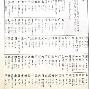 風部と几部、月偏と肉づきと歹偏、森と林、夙めてと努めるは同源  漢字と国字の謎