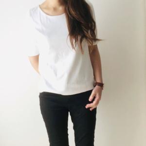 【着てみた】ドゥクラッセの人気商品ダブルフロントTシャツ(ドゥクラッセTシャツ)を購入!コーデ写真を紹介【口コミ】