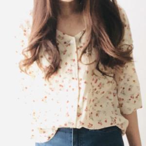 【夢展望購入レポ】春夏用のシンプルカットソー、花柄ブラウス、ジャケットをレビュー!