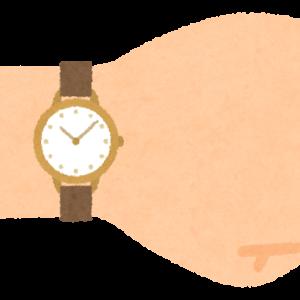 返品した腕時計