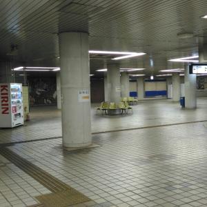 2人なら怖くない、例の東成田駅から芝山千代田駅へ