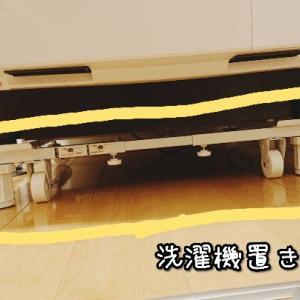洗濯機の下に潜り込む?【靴下片足ホコリ事件】洗濯機置き台のメリットまとめ!