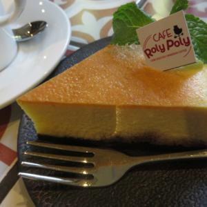 カフェ情報☆町一番のベイグドチーズケーキ@カフェロリーポリー