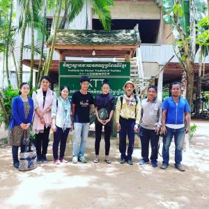 NGO伝統の森IKTTへ