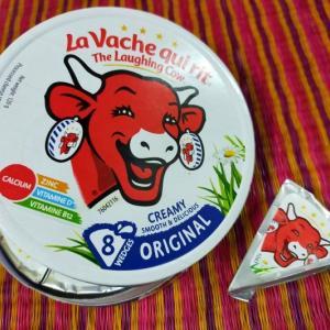 """お気に入り☆""""笑う牛""""ブランドのクリームチーズ"""