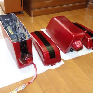 モンキー・レストア記「サイドバッグの塗装VOL2」