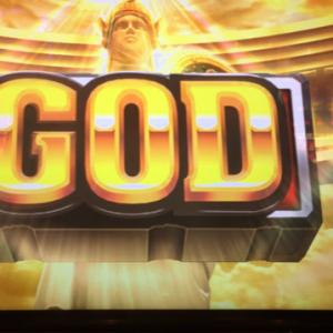 ミリオンゴッド神々の凱旋で5000枚オーバー