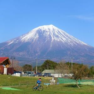 富士ミルクランドでキャンプ!富士山の雄大な姿に感動しました。