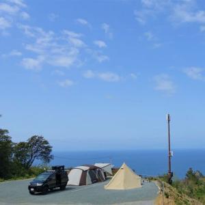 雲見オートキャンプ場!駿河湾を望め,色々と素晴らしいキャンプ場です。