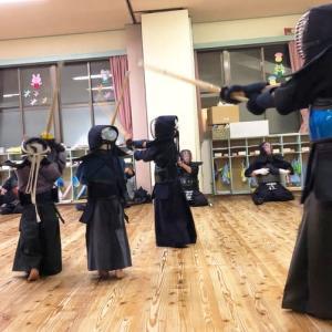 三田村道場 年末年始の稽古