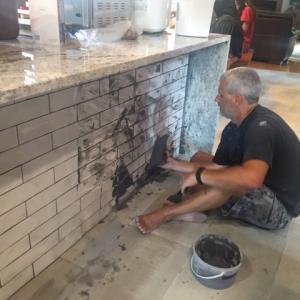台所の改造