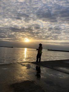 須磨海岸えりごろうキス20センチ(裏街道ひた走ってます)