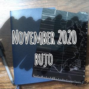 【BUJO】2020年11月のフォーマット