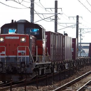 DD51 1801号機+コキ