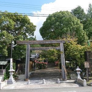 三輪山の南 鳥見山(とみさん)ふもとの等彌神社 御神紋は輝くヤタカラス(八咫烏)と謎の神像