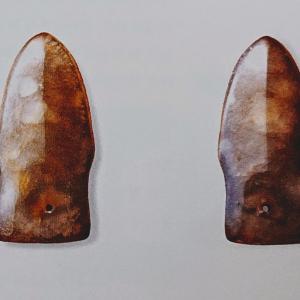 八尾市立歴史民俗資料館・所蔵【ヒスイ製の鏃(ぞく)】世界で2品しかない珍品【国石 ヒスイの古代史(翡翠)(14)】