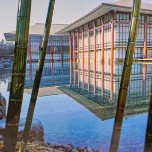 【発掘・EXPO70(12)】中宮寺本堂をモデルにしたパビリオン【松下幸之助さんが投じた一石】