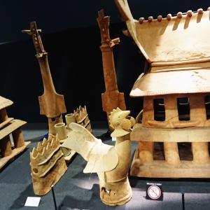 【今城塚古墳】古代の王宮の再現 二百体以上の埴輪列【埴輪まつりのステージ】