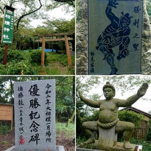 【相撲神社(野見宿禰社)】史上はじめて天覧相撲が催された穴師のカタヤケシ