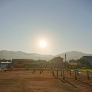 纏向遺跡に繋がる 野見宿祢の古代の道【秋分の日の日の出】