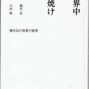 週刊 読書案内 山田航・穂村弘「世界中が夕焼け」(新潮社)その3