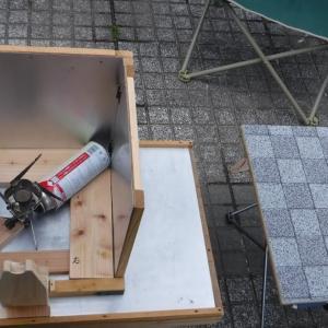 釣りネタではありません、アウトドア用折り畳み式2グリル完成!!!