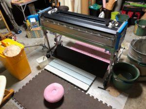「壁紙☆クロス」自動壁紙糊付機の使い方をYouTube投稿しました♪
