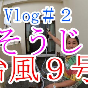 【Vlog】沖縄台風後のそうじ