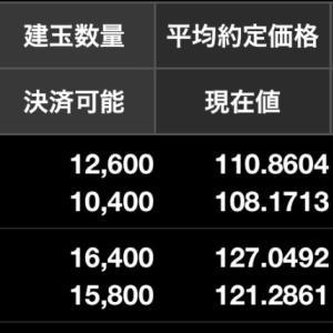 ドル円買いユーロ円売り両建てFX損益状況(7月17日)
