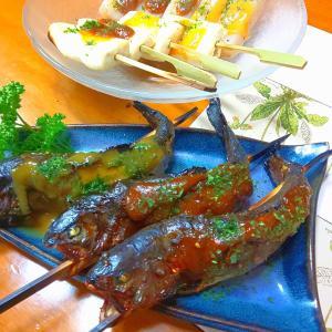 【.:*'° un cuisine :'】ニジマスの田楽味噌焼と西京味噌漬