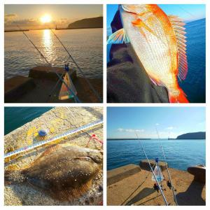 【2020 First-Fishing (on  the sea)】思案中 初海ポイント