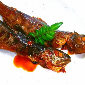 【.:*'° un cuisine :'】圧力鍋料理特集5️⃣ リベンジ❗️アマゴ甘露煮