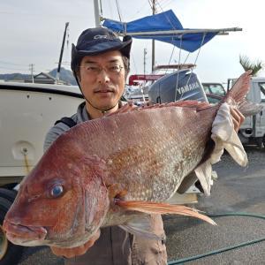 マイボートで内房保田沖のマダイ釣り~二匹目のドジョウはいなかった。