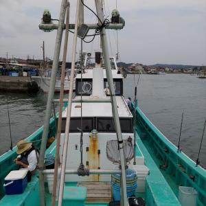外房大原沖の一つテンヤ釣り~久しぶりのサークル釣行