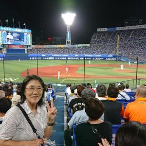 今日は横浜スタジアム