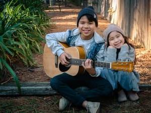 人の風景 emiko life  251話 ギターを楽しむ