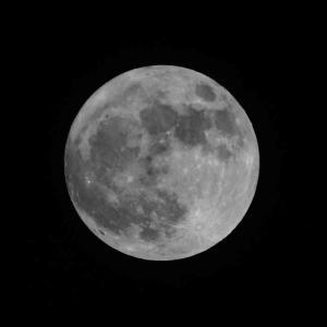 ● 横浜の満月/ブルームーン -2020年10月