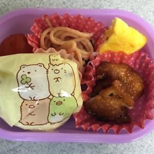 キャラ弁もへったくれもない娘の幼稚園弁当