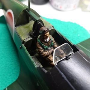 タミヤ1/48雷電⑪.5タラタラ進行です。