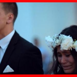 花嫁の涙が溢れる。結婚式でハカを目の前で踊るのを見て号泣