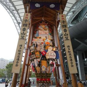 博多祇園山笠の飾り山笠