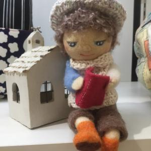 お人形さんラブ💗(笑)可動式の少年は、苦労して作った思い入れ深いもの。