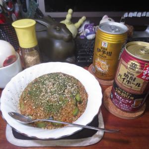 辛いライスのきゅうり焼飯♬