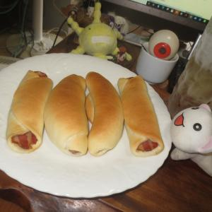 ハーブウインナーパン&ベーコンパン♬