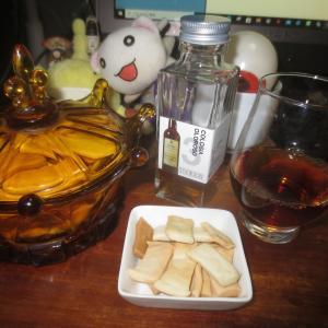 手作りクッキー&シェリー酒♬(^〇^)□